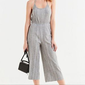 Urban Outfitters | Holly Ribbed Halter Jumpsuit